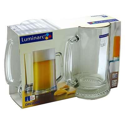 Набор пивных кружек Luminarc ОСЗ Дрезден 500 мл. (H5116/1) 61334