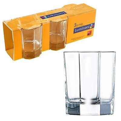 Набор стаканов низких Luminarc ОСЗ OCTIME 300мл. (H9810/1)