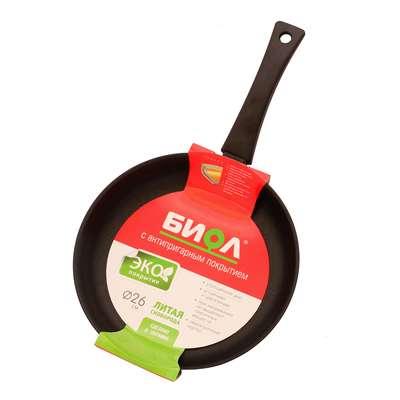 Сковорода Биол без крышки 22 см. (2204П) 61850