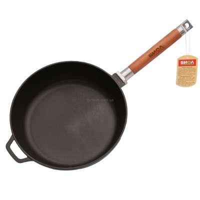 Сковорода чугунная без крышки Биол (324) 61810
