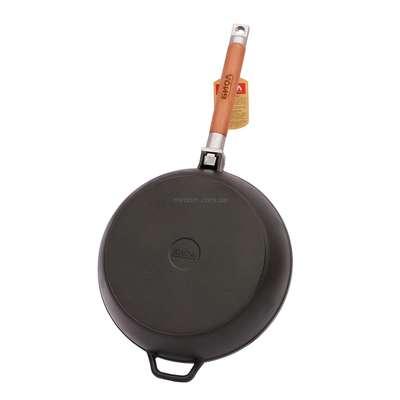 Сковорода чугунная без крышки Биол (324) 61809
