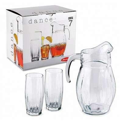 Набор стаканов с кувшином Pasabahce Dance (97874)