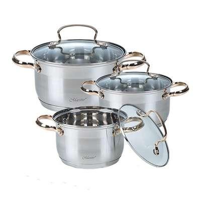 Набор посуды Maestro 6 предметов (3520-6M-MR)