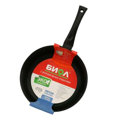 Сковорода без крышки Биол 20 см. (2007П) 63547