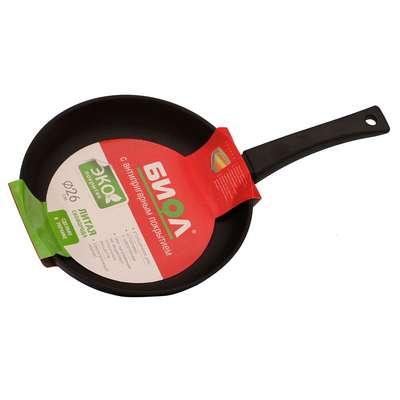 Сковорода без крышки Биол 18 см. (1804П) 63612