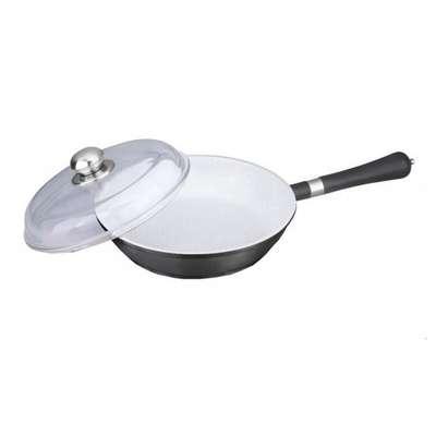 Сковорода с керамическим покрытием Bohmann 24 см. (6011-24WC)