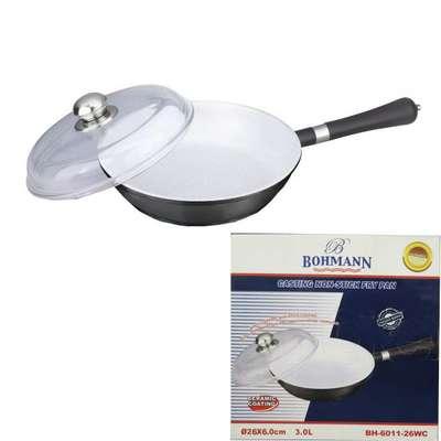 Сковорода с керамическим покрытием Bohmann 26 см. (6011-26WC)