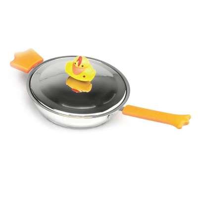 Сковорода с крышкой Sheriff Duck BergHOFF 18 см., 1 л. (1100029)
