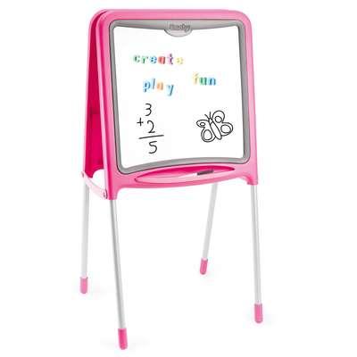 """Двусторонний мольберт """"Pink"""" на металлических ножках (28109)"""