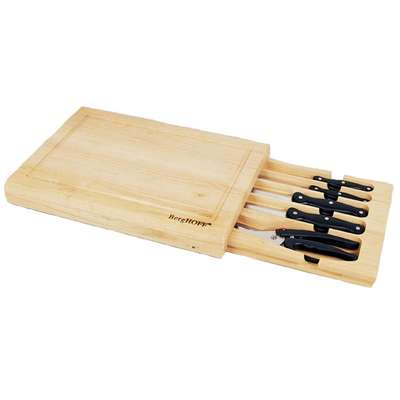 Ножи в деревянной коробке BergHOFF 5 пр. (1302119)
