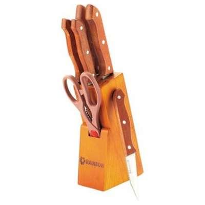 Набор ножей с деревянной ручкой Maestro 7 пр. (MR-1401)