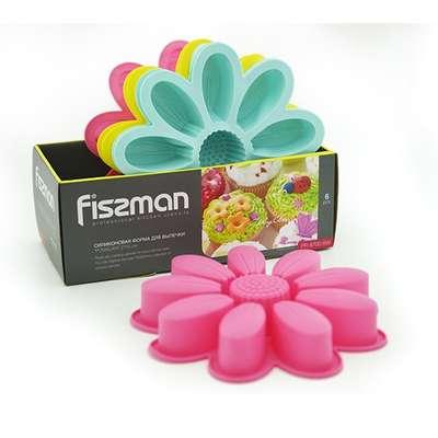 Форма силиконовая для выпекания Ромашка Fissman (PR-6700.BW)