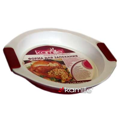 Форма для запекания с керамическим покрытием Kamille (А-6011)