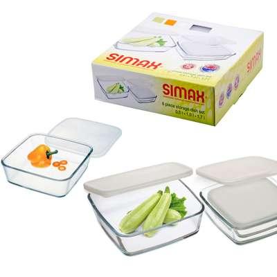 Набор емкостей Simax 3 шт. (s350)