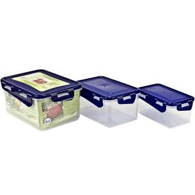 Набор контейнеров пищевых Алеана 3 в 1 (алн 167040)