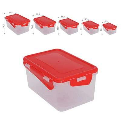 Набор контейнеров с зажимом Алеана 5в1 (алн 167049)