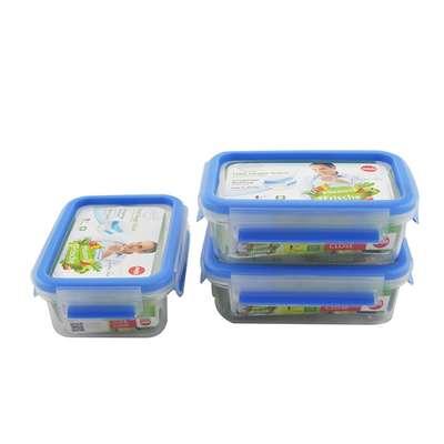 Набор из 3х контейнеров Clip&Close 3D Emsa 0,55 л. (EM508570) 68921