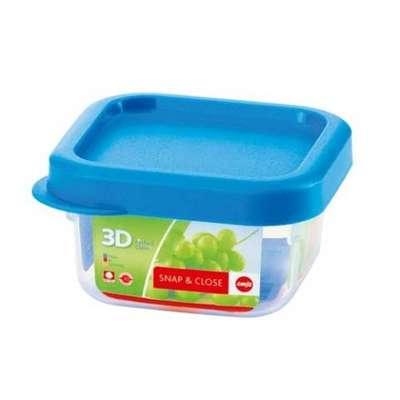 Квадратный пищевой контейнер Snap&Close Emsa 220 мл. (EM508572)