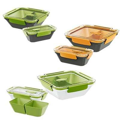 Контейнер с 2 отделениями Bento Box Emsa 0,9 л. (EM513959) 68849