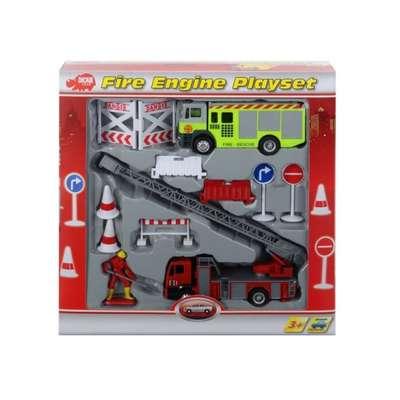 Игровой набор Пожарная служба с фигуркой человечка и аксессуарами Dickie toys (3315396)