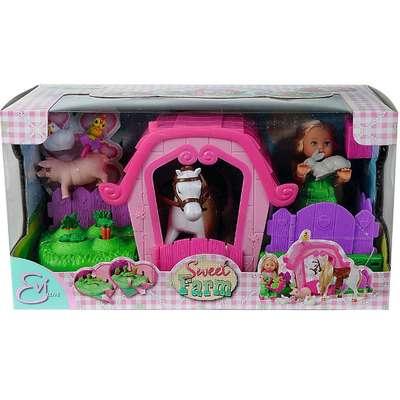 Кукольный набор Ева и ферма с аксессуарами Steffi & Evi Love (5733068) 74797
