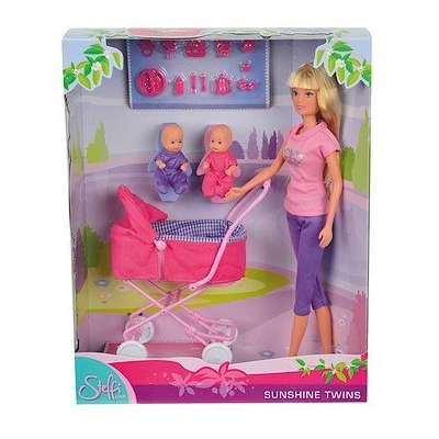 Кукла Штеффи с коляской Steffi & Evi Love (5738060) 74821