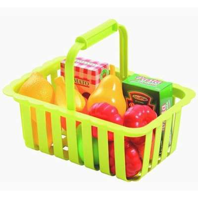 Корзина для супермаркета с продуктами Ecoiffier (981)