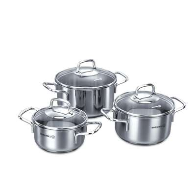 Набор посуды Perla Korkmaz 6 пр. (A1650)