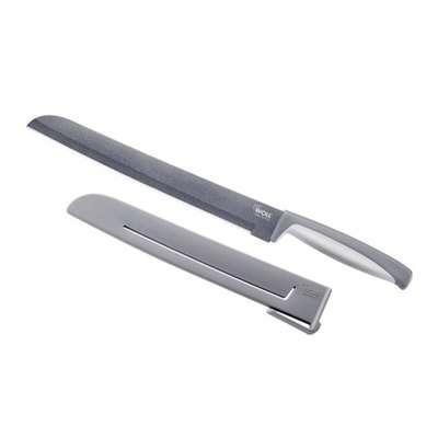 Нож для хлеба с защитным чехлом Woll 24 см. (WM024)