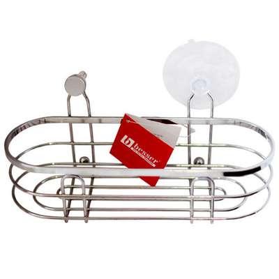 Корзинка в ванную навесная овальная Besser (А-0525)