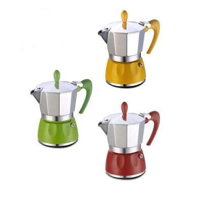 Гейзерная кофеварка на 9 чашек Delizia GAT (100009)