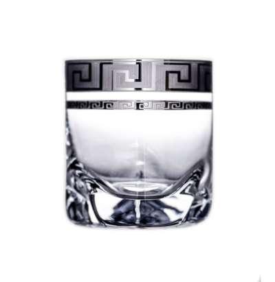 Набор стаканов для виски Bohemia Barline Trio Kostka платина (17-08-280-6-002)