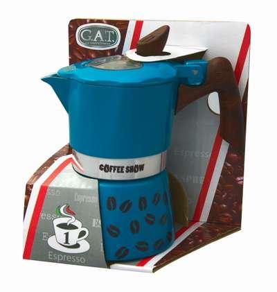 Гейзерная кофеварка на 6 чашек Coffee Show GAT (104606) 78329