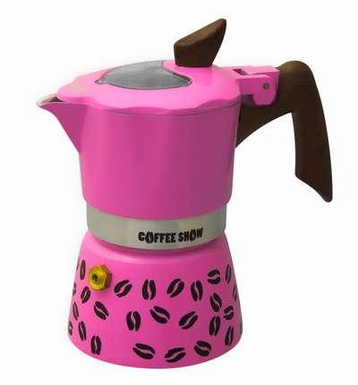 Гейзерная кофеварка на 6 чашек Coffee Show GAT (104606) 78325