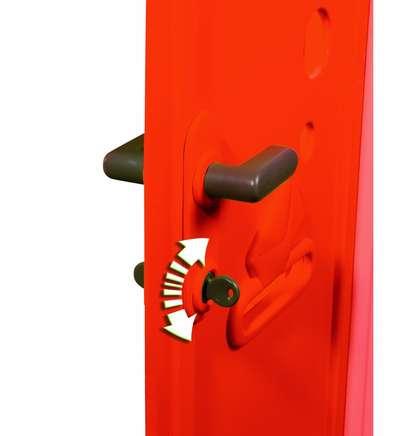 Домик лесника со ставнями и ключом Smoby (310263) 74221