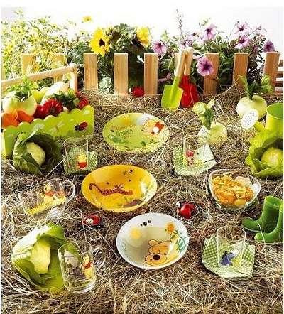 Тарелка десертная Luminarc Disney Winnie Garden 19 см. (h6427) 57858