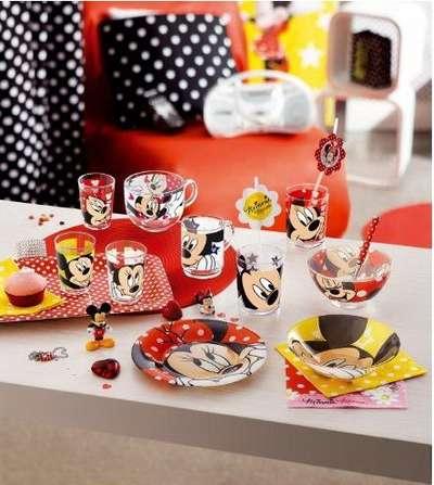 Тарелка десертная Luminarc Disney Oh Minnie 19 см. (H6438) 57756