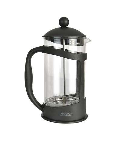 Френч-пресс для кофе/чая в черной подставке Berghoff 1 л. (1106835)