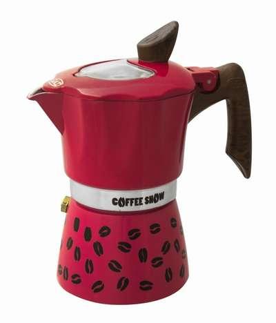 Гейзерная кофеварка на 3 чашки Coffee Show GAT (104603) 78313