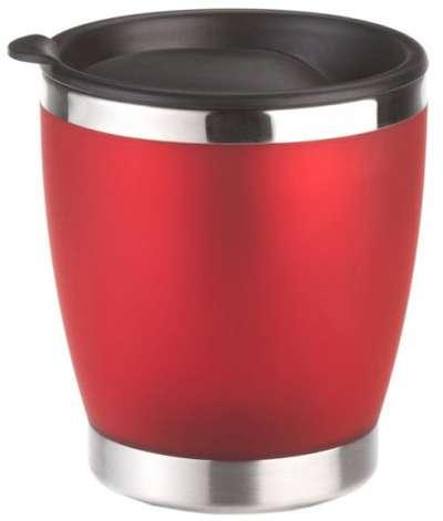 Кружка из нержавеющей стали с красным покрытием Soft-Touch City Cup Emsa (EM504843)