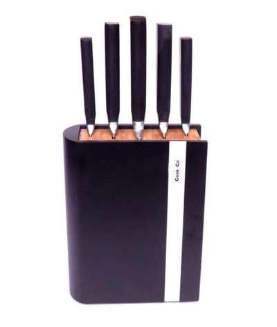 Набор ножей в черной колоде Cook&Co 6 пр. (2800039)