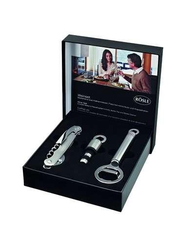 Набор для вина в подарочной упаковке Rosle 3 пр. (R12675)