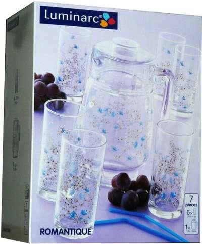 Комплект для напитков Luminarc Aime Romantique 7 предметов (C0828)