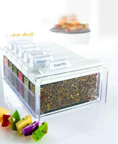 Прозрачный органайзер для специй Spice Box Emsa на 6 отделений (EM508456) 67113
