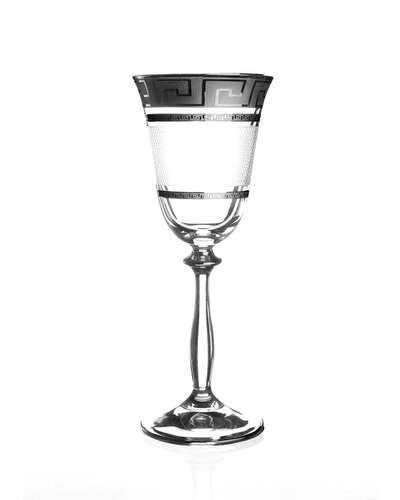 Набор бокалов для вина Bohemia Angela Karo Kostka платина (01-02-185-6-004)