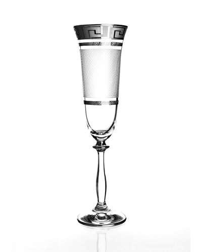 Набор бокалов для шампанского Bohemia Angela Karo Kostka платина (01-03-190-6-004)