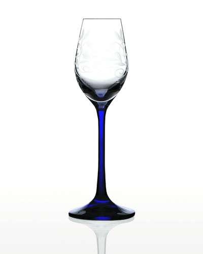 Набор рюмок для водки и ликера Bohemia Viola Lido кобальт (06-01-60-6-047)