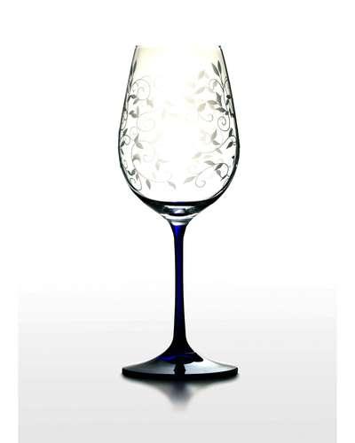 Набор бокалов для вина Bohemia Viola (Lido 350 кобальт) (06-02-350-6-047)