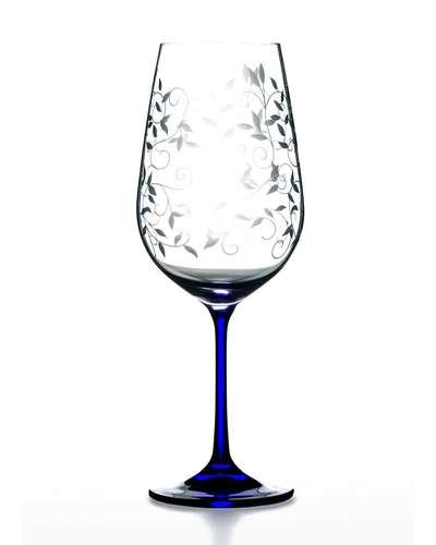 Набор бокалов для вина Bohemia Viola Lido cobalt 550 мл. (06-02-550-6-047)