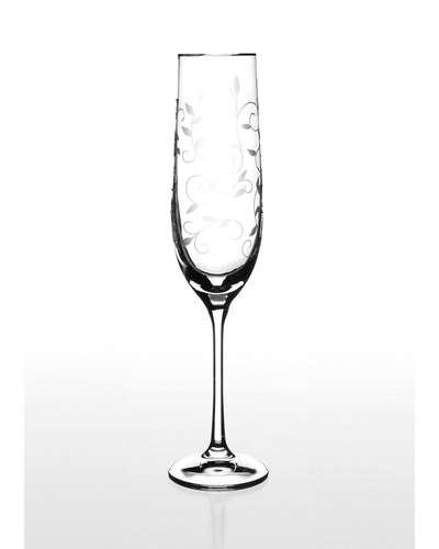Набор бокалов для шампанского Bohemia Viola (Lido платина) (06-03-190-6-020)